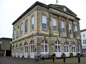 Grade II* listed buildings in Test Valley - Image: Andover Guildhall geograph.org.uk 1030735