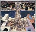 André Devambez - La colline de Chaillot pendant l'exposition Internationale de 1937, vue de la Tour Eiffel - P2807 - Musée Carnavalet.jpg