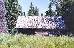 National Register of Historic Places listings in Kenai Peninsula Borough, Alaska - Image: Andrew Berg Cabin