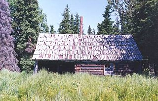 Andrew Berg Cabin United States historic place