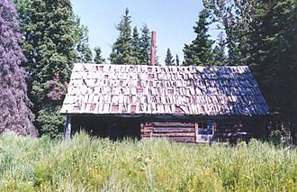 National Register of Historic Places listings in Kenai Peninsula Borough, Alaska - Image: Andrew Berg Cabin