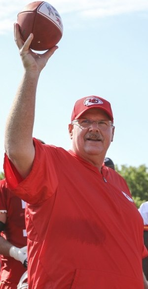 Andy Reid - Reid as head coach of the Chiefs in 2016