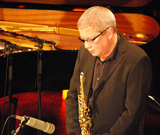 Andy Sheppard - Sheppard performing in 2008 with Carla Bley