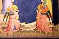 Angelico, pala di fiesole, con sfondo di lorenzo di credi, 04.JPG