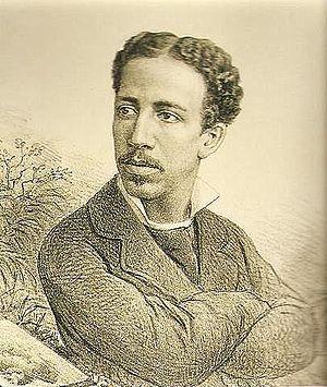 Firmino Monteiro - Firmino Monteiro; lithograph by Angelo Agostini (1882)