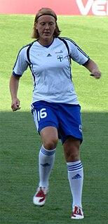 Anna Westerlund Finnish footballer