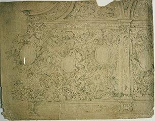 Design with multiple ornamental motifs