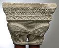 Anonyme toulousain - Chapiteau de colonnes jumelles , Oiseau aux cous enlacés - Musée des Augustins - ME 166 (1).jpg