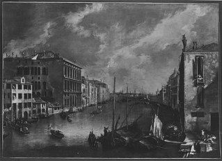 Ansicht des Canale Grande von San Vio (Venedig) (Nachfolger)
