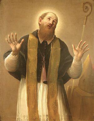 Antonio Cifrondi - Image: Antonio Cifrondi Santo obispo M Arte Tempo Clusone