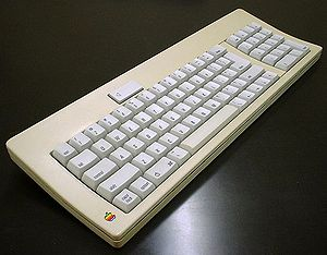 Apple Desktop Bus - Image: Apple ADB Keyboard