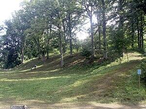 Apuolė - Apuolė mound