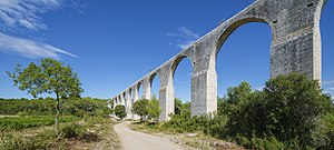 Castries, Hérault - Aqueduc of Castries