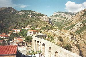 בר: Aqueduct stari bar