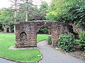 Arch from old St Michael's Church, Grosvenor Park, Chester - DSC08006.JPG