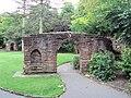 Arch from old St Michael's Church, Grosvenor Park, Chester - DSC08006.JPG