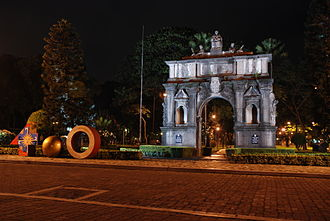 Arch of the Centuries - The arch in 2012