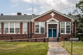 National Register of Historic Places listings in Loudoun County, Virginia - Image: Arcola Elementary School 0851