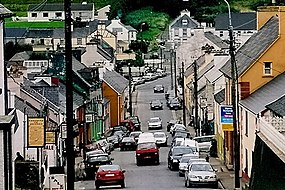 Ardara - SW view of Front Street from R261 intersection - geograph.org.uk - 1352966.jpg