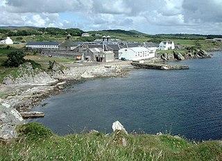 Ardbeg distillery Scotch whisky distillery on Islay, Scotland