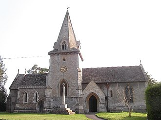 Ardington - Image: Ardington church