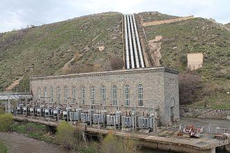 Sevan–Hrazdan Cascade - Building of the Argel HPS