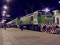 Tren de Ferrocentral que hace el recorrido Retiro-Tucumán