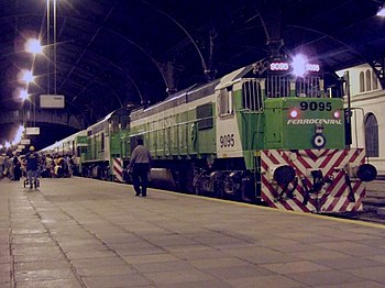 Argentine train - Ferrocentral - Buenos Aires - Tucuman