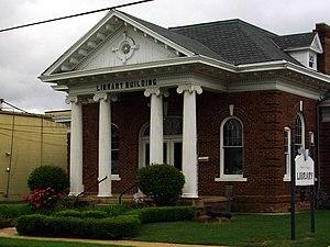 Clark County Library - Image: Arkadelphia Public Library 002