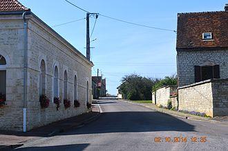 Arrelles - A street in Arrelles
