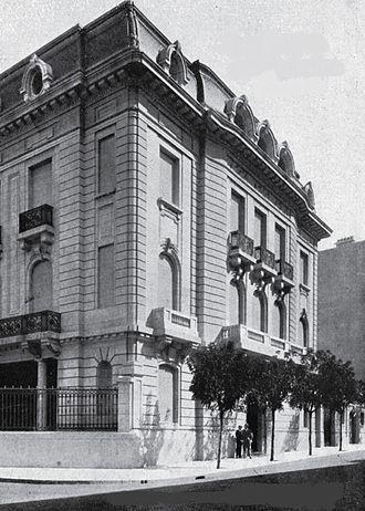Argentina–Israel relations - Former Israeli embassy in Argentina