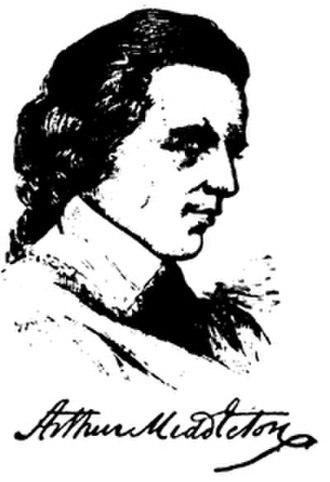 Arthur Middleton (1681–1737) - Image: Arthur Middleton (1681–1737)
