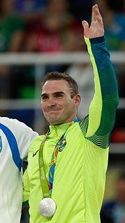 Arthur Zanetti Brazilian artistic gymnast