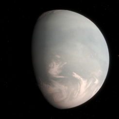 Artist's impression of a cloud-covered planet inspired by the data of Gliese 832 c.png