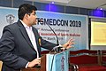 Arya Roy Delivering Lecture - Hand and Wrist Injury in Sports - SPORTSMEDCON 2019 - SSKM Hospital - Kolkata 2019-03-17 3576.JPG