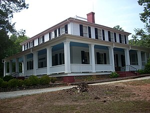 National Register of Historic Places listings in Anderson County, South Carolina - Image: Ashtabula, off S.C. Hwy. 88, Pendleton vicinity, Anderson County, South Carolina)