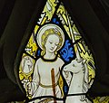 Ashwell, St Mary's church, Stained glass window detail (40185143930).jpg