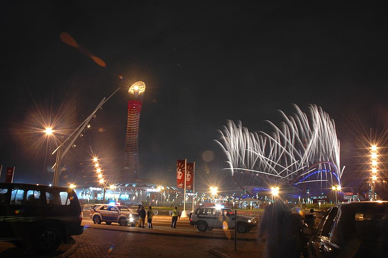 File:Asian Games Doha 2006 fireworks.jpg