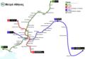 Athens Metro map-el (2013).png