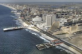Vista generala d'Atlantic City