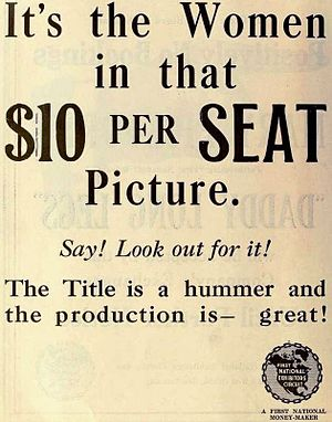Ravished Armenia (film) - Image: Auction of Souls (1919) Ad 5