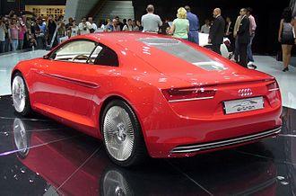 Audi e-tron - Image: Audi e tron Heck
