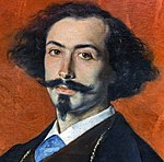 Augustins - Portrait du peintre espagnol Matías Moreno - Charles Durand dit Carolus-Duran P1652 (close-up).jpg