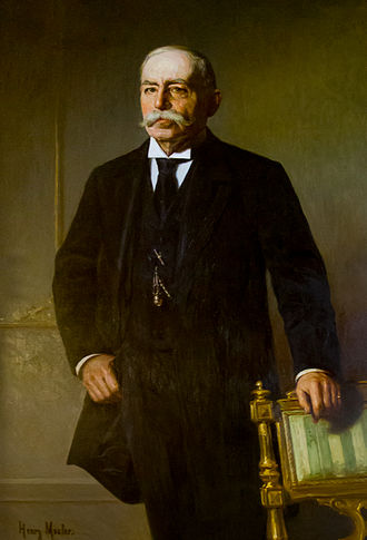 Augustus O. Bourn - Bourn's official State House portrait