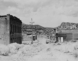 Aurora, Nevada - Aurora, circa 1934