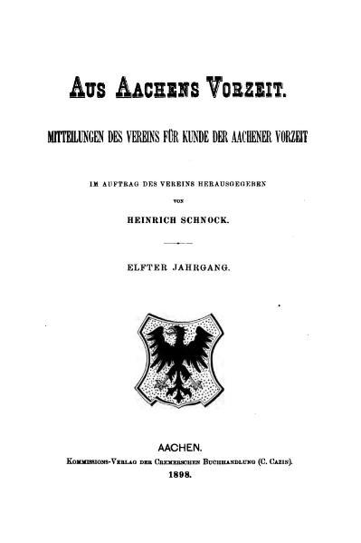 File:Aus Aachens Vorzeit 11 Jg 1898.djvu