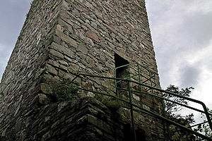 Burg Koppenstein, Bergfried