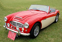Austin-Healey 100-Six Sports z 1958 roku