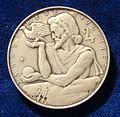 Austria 1959 Calendar Medal Jupiter Year.jpg