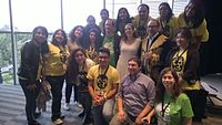 Avner and Darya's wiki Wedding at Wikimania by ovedc 12.jpg
